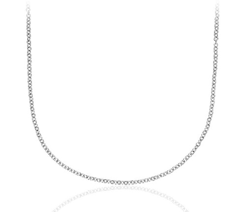 Chain in 14k White Gold