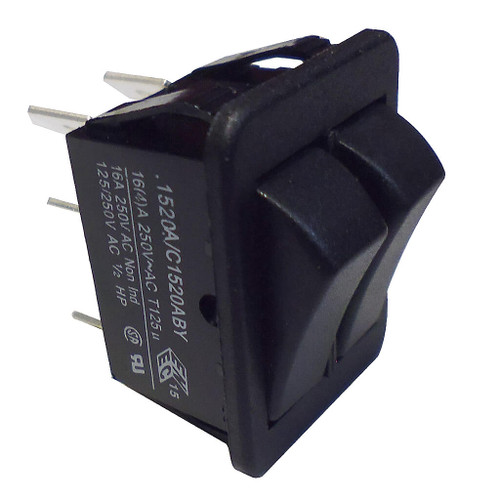 Grant Heating Store Twin Switch (6 Terminal)