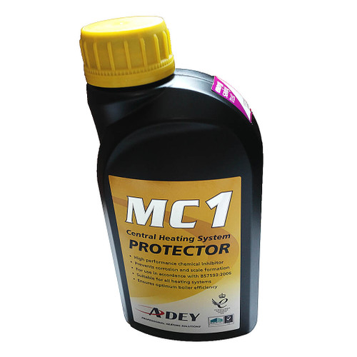 Adey MC1 Central Heating System Protector, 500ml - Single Pack