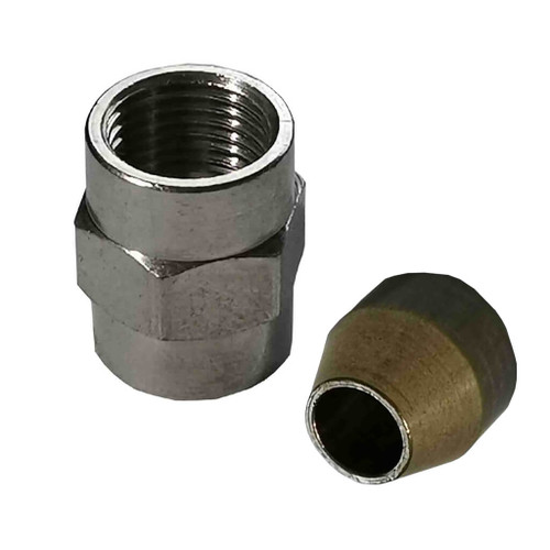 Ecoflam Burner Fuel Pipe and Oil Pipe Nut