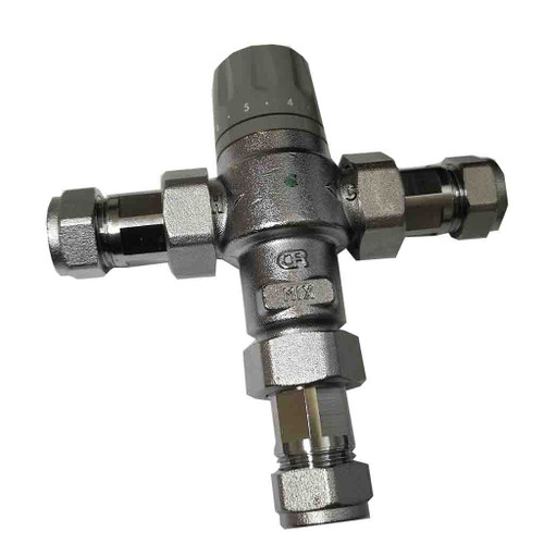 Altecnic 15mm 45-65 Degree Domestic Tempering Valve