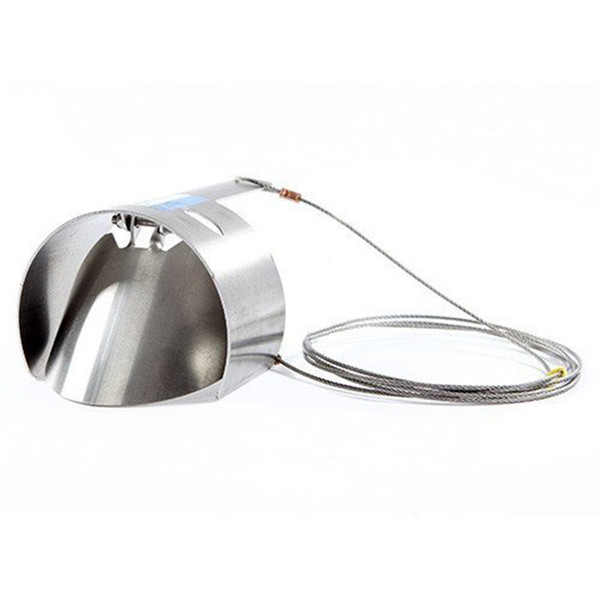 """Ratflap Stainless Steel Rat Prevention Fast 4"""" 100mm Clay or Plastic Drain Pipe"""