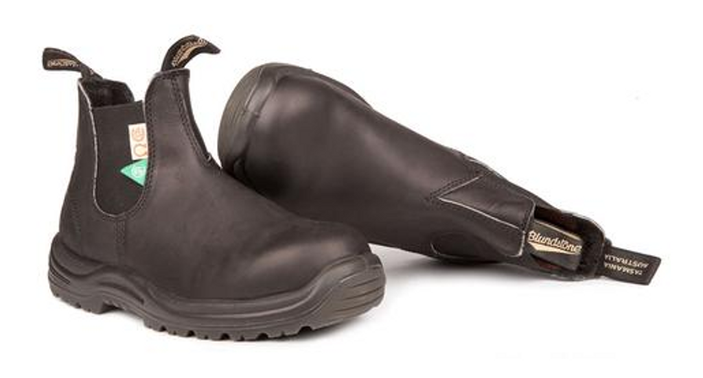 BLUNDSTONE 163 - The CSA Greenpatch in Black