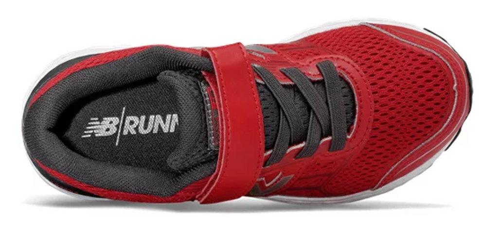 680 VELCRO RUNNER W B 7-10 RED