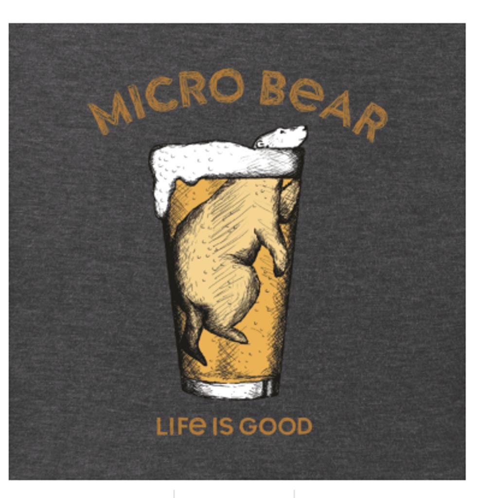 M LONG SLV CR COLD MICRO BEAR HNTBLK (57574)