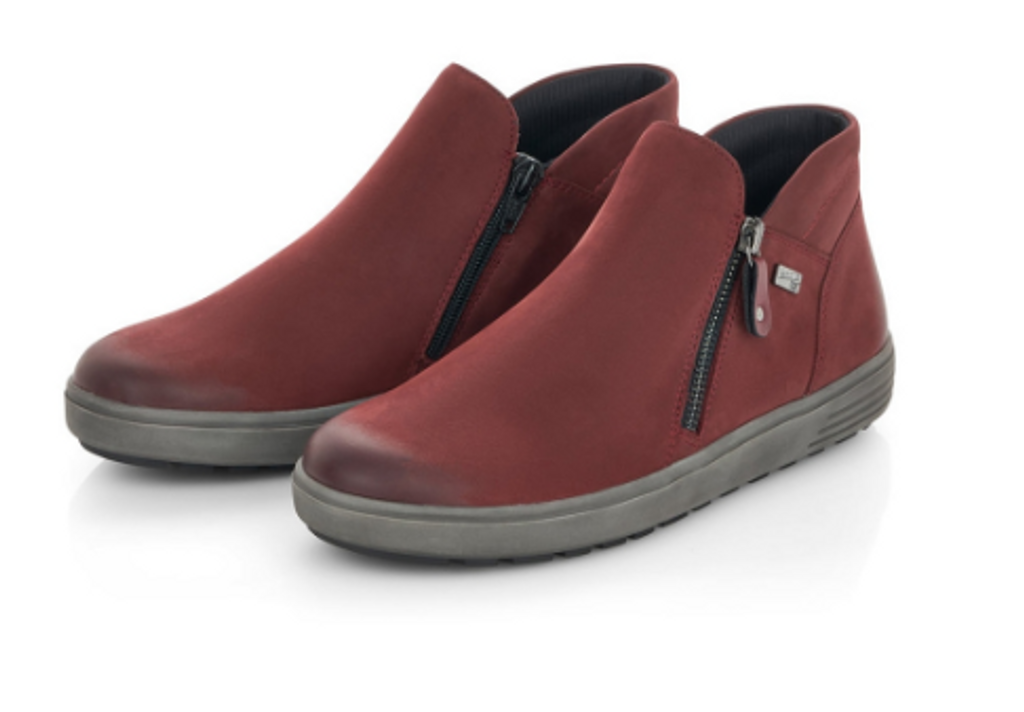 DBL ZIP BOOT WP ATHLTETIC SOLE WINE D4470-35
