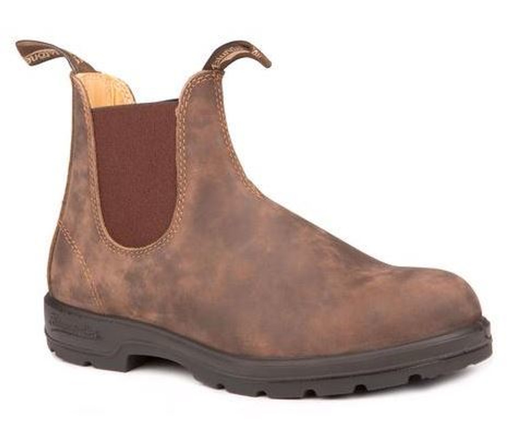 BLUNDSTONE 585 - The Leather Lined in Rustic Brown Mens (B585M)
