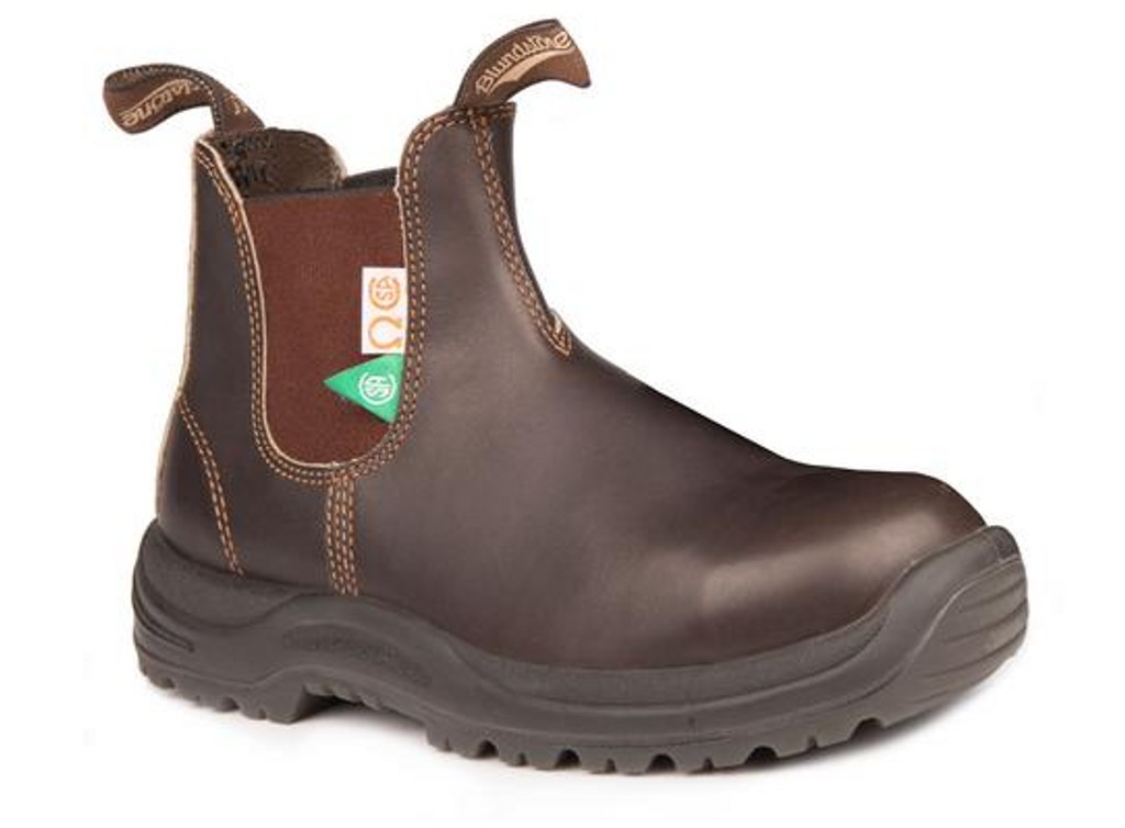 BLUNDSTONE 162 - The CSA Greenpatch in Brown Mens