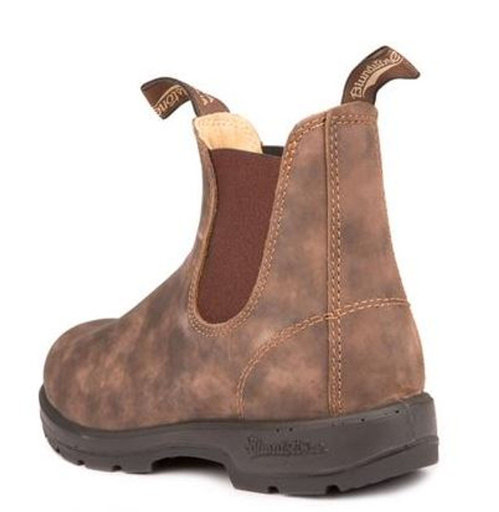 c30e013777f2 BLUNDSTONE 585 - The Leather Lined in Rustic Brown - Brock s