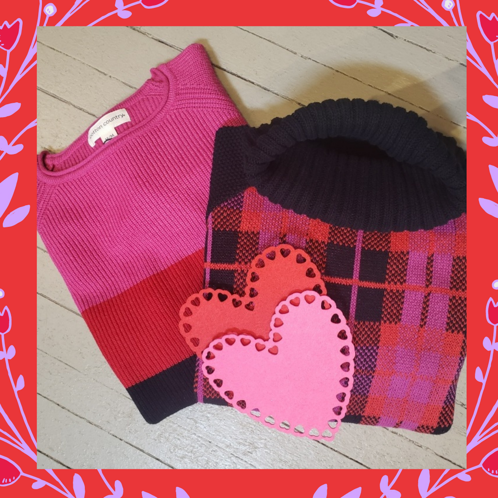 Give cozy for Valentine's Day