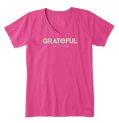 W CRUSHER VEE GRATEFUL FSTPNK (55481)