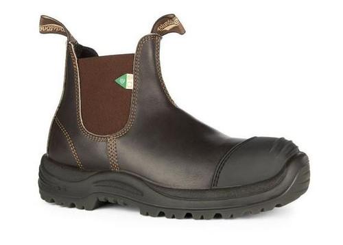 BLUNDSTONE 167 - Greenpatch CSA Rubber Toe Cap Stout Brown