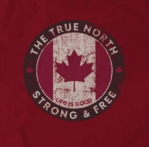 M CRUSHER TEE CANADA STRONG FREE RICHRED