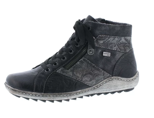 FASHION HIKER WP SIDE ZIP MULTI BLACK R1497-45