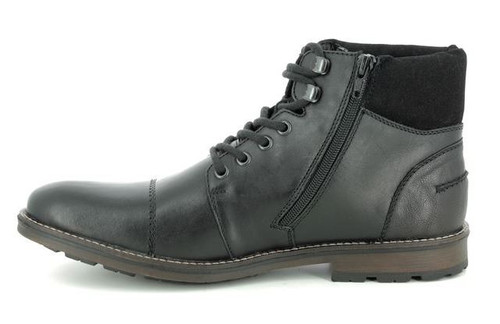 WP HIKER LACE WITH SIDE ZIP BLACK F5514-00