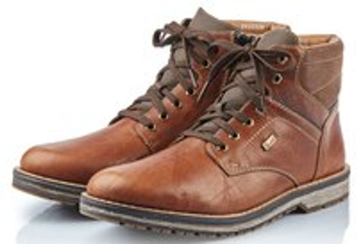 WORKBOOT LOOK WP TIE/ZIP MARRON 39223-26 (3922326) (3922326)