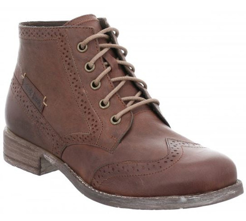 SIENNA 74 SIDE ZIP LACE BOOT 99674