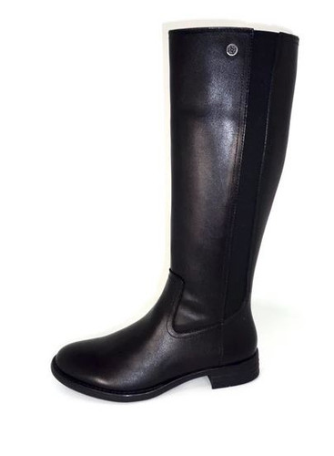TALL LEATHER BOOT SIDE GORE TASHAB