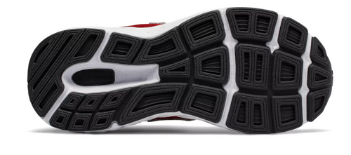 680 VELCRO RUNNER W B 10.5-2 RED