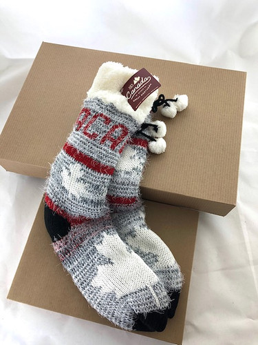 GN LADIES CANADA HOME SOCK (34242) (34242)