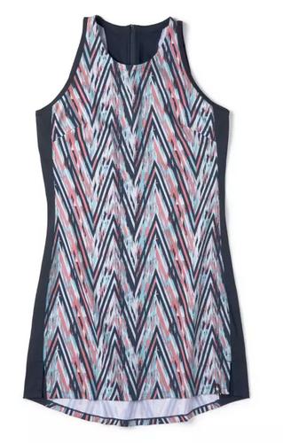W MERINO SPORT TANK DRESS CANYON ROSE (SW016251D79)