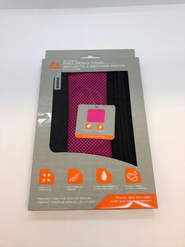 RBX FAST DRYING TOWEL PINK