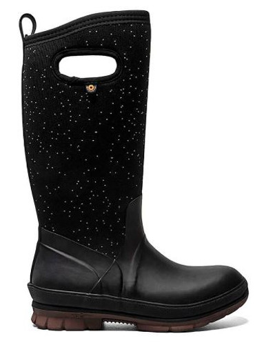 W CRANDALL BOOT TALL  BLACK 72553-001