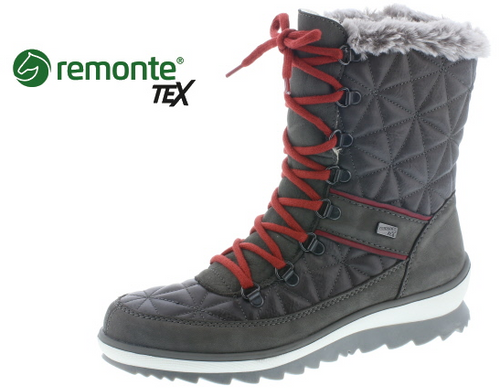 QUILTED MID HIKER SZIP WP R4383-45