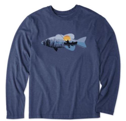 M LS COOL TEE FISHING VISTA (65408) (65408)