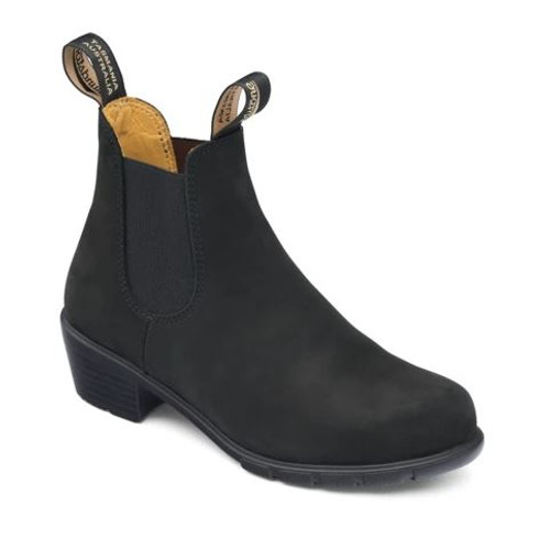 Blundstone 1960 - The Women's Series Heel Black Nubuck