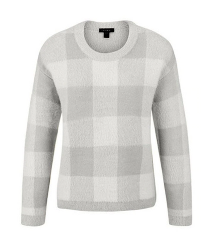 L/S PLAID SWEATER 39660-3051