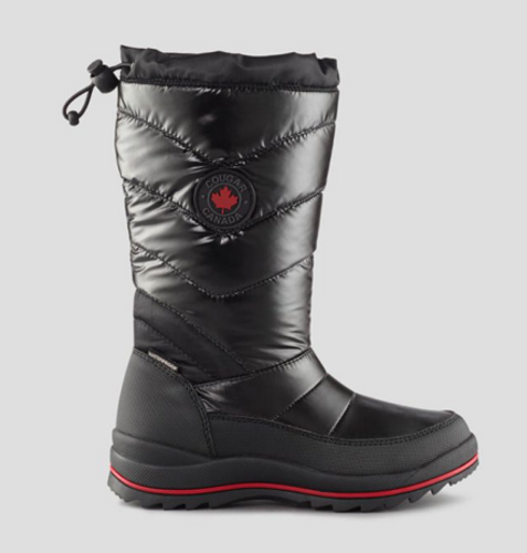 PULLON QUILT BOOT -30WP G13-4 CRYSTAL