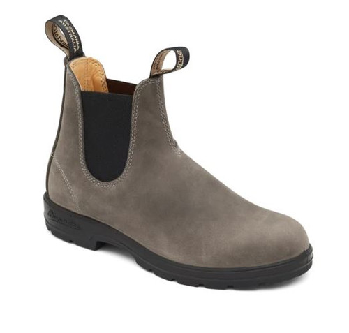 BLUNDSTONE 1469- THE LEATHER LINED IN STEEL GREY