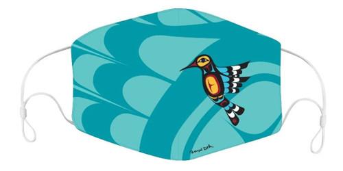 HUMMINGBIRD FACE MASK 1765