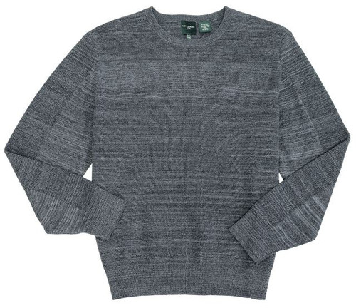 CREW NECK SPACE DYED SWEATER (525623)