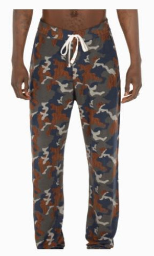 SNOOZE PANT -NAVY WOOD GRAIN CAMO(SXLP33NWG)