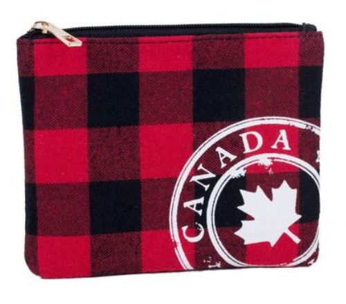 BUFFALO CHECK WITH CANADA STAMP POUCH (3678802138)