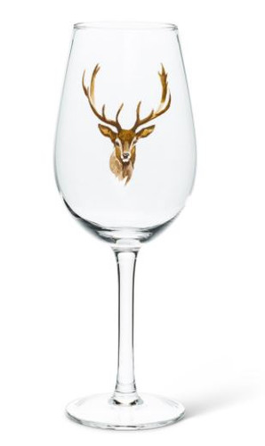 STAG HEAD  GOBLET WITH STEM (27MIRTH01STAG)