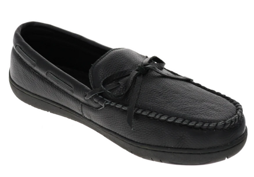 LAKE PLACID SLIPPER MENS BLACK