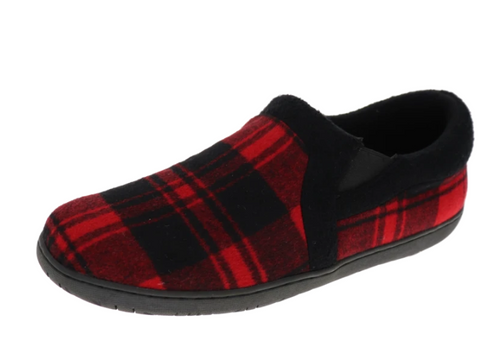 PLAID SLIPPER JACOB