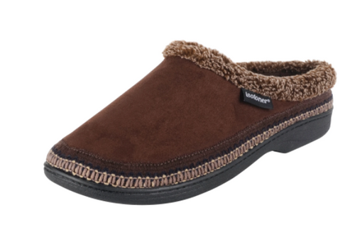 MICRO SUEDE HOOD BACK SLIPPER 90002