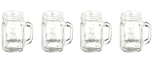 MASON JAR SHOT GLASSES GL08 (GL08)