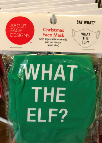 WHAT THE ELF FACE MASK (129665)