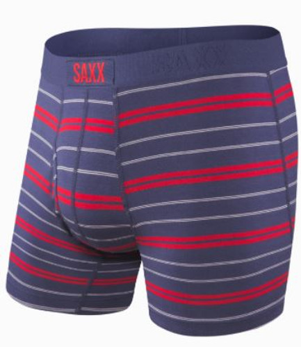 ULTRA BOXER BRIEF FLY  -NAVY SUMMIT STRIPE (SXBB30FNSS)
