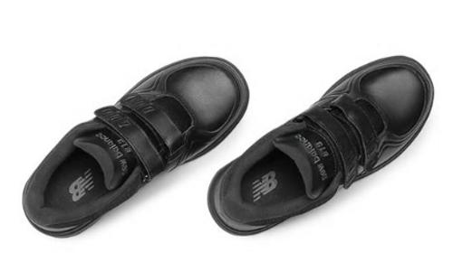 813 HEALTH WALKING SHOE VELCRO BLACK
