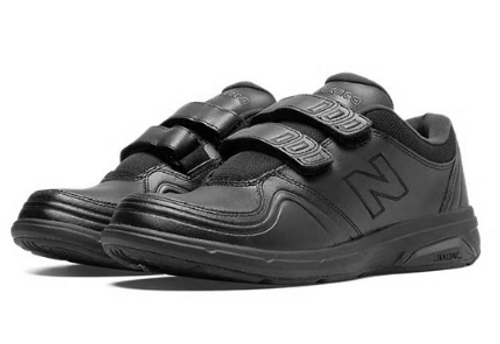 813 HEALTH WALKING SHOE VELCRO BLACK