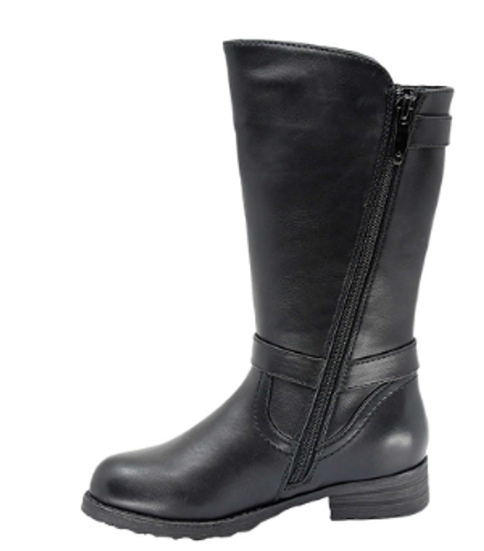 TALL MOTO BOOT 2 BUCKLES ADRIANA