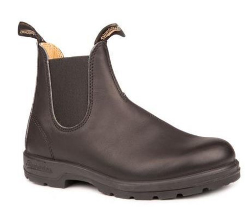 BLUNDSTONE 558 - The Leather Lined Black Mens