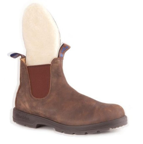 BLUNDSTONE 584 - The Winter in Rustic Brown Mens 584M