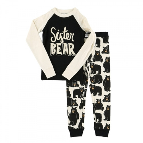 KIDS PJ SET SISTER BEAR 2-10 KID402A